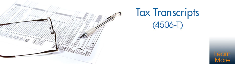 Tax Transcripts (4506-T)