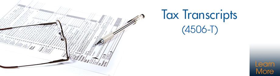 Tax Transcripts (4506-T)